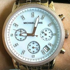 Women's Michael Kors Rose Gold Watch MK 5026 | eBay