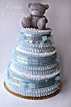 Торт из памперсов в СПб шикарный и много идей для букетов