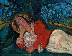 Chaïm Soutine (1893 - 1943) La sieste, circa 1934