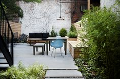 Bedford Stuyvesant Brownstone Landscape Project || NYC Garden Design