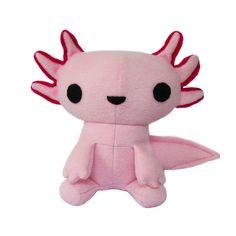Sewing Pattern -Axolotl Plush Toy Mexican Walking Fish - Kawaii
