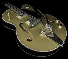 Gretsch Custom Shop G6118T 130th Anniversary Electric Guitar Gold/Black
