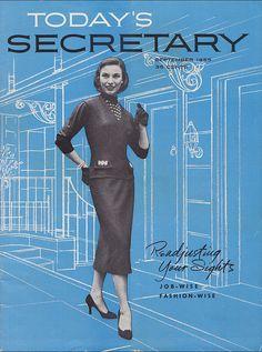Always be a secretary in heels.