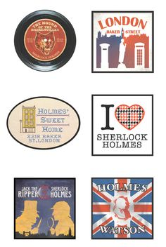 Sherlock Holmes Museum - Gift Shop Items by Robert Penney, via Behance