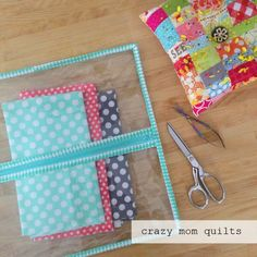 crazy mom quilts: zippers galore