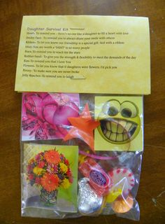 Daughter Survival Kit * 10 items inside - Novelty gift in Home & Garden, Greeting Cards & Party Supply, Party Supplies | eBay