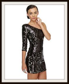 This would a cute new years dress.