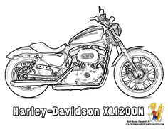motorcycle coloring pages | Coloring Motorcycles | Motorcycles | Free Motorcycle Coloring Pages ...