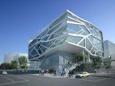 Green Architecture Design of Gimpo Art Hall by Gansam Partners | Concept Design