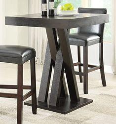 Coaster Bar Table-Cappuccino
