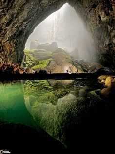 The Hang Son Doong cave in Quang Binh Province, Vietnam   Son Doong Cave is twice the size of Deer Cave in Sarawak, Malaysia ...