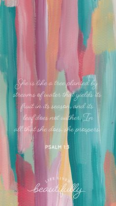 Free lock screen to match the new Planted Bible study!   Inspiration — Life Lived Beautifully