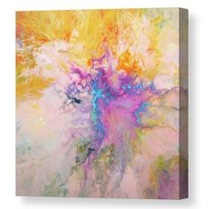 Colorful abstract painting tca by Tiktus Color Art Canvas Prints, Framed Prints, Art Prints, All Wall, Acrylic Pouring, Unique Art, Fine Art America, Pastel, Rainbow