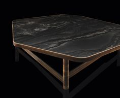 Henge OR coffee table stone or wooden top. Designed by Massimo Castagna Timber Furniture, Table Furniture, Luxury Furniture, Modern Furniture, Furniture Design, Furniture Ideas, Coffe Table, Coffee Table Design, Modern Coffee Tables