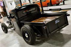 Ford hot rod truck box