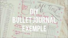 mon bullet journal en francais - YouTube Bullet Journal En Français, Filofax, Lettering, Album, Bujo, Personalized Items, Youtube, Scrap, Ticket
