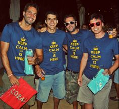 Keep Calm Team - Coral Beach Party - Festas de Verão #CervejaCORAL