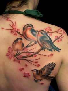 """BEAUTIFUL"" Bird Tattoo"