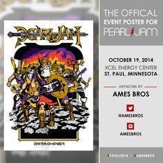 Pearl Jam, St Paul, 19/10/2014