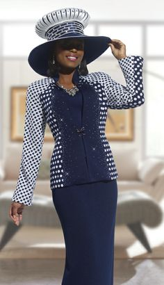 women's church suits 2014 Church Suits And Hats, Women Church Suits, Church Attire, Church Hats, Church Dresses, Church Outfits, Suits For Women, Clothes For Women, Dress Hats