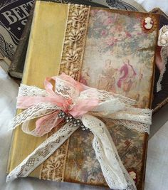 Wedding Guest Book  Old English Design  by youruniquescrapbook, £119.99