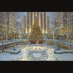 Holidays in New York by Robert Finale