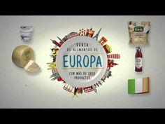 Feria de Alimentos de Europa - Supermercado El Corte Inglés - YouTube