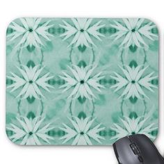 Fantasy Flower Plant Pattern Mousepads  nature, artistic, beauty, calm, cold, decorative, ornamental, petals, plants, soft, artificial, background, color, delicated, design, female, flora, leaves, pattern, peace, photomanipulation, quiet, refined, relaxing, romance, spiritual, stockphoto, symmetric, textil, turquoise, uniqueness, white, winter
