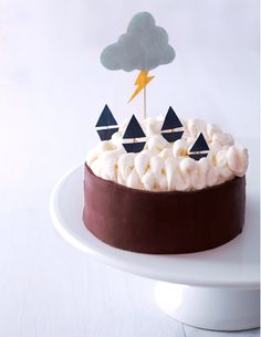windy waves cake
