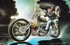 david mann artist | David Mann Easyriders David Mann Artwork For
