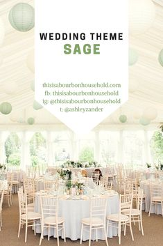 Ideas for a sage colored wedding!  Background photo used from https://pin.it/kd6m4cwzel2qhc