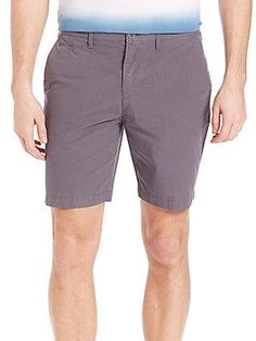 Burberry Slim Fit Chino Shorts - Stone Grey - Size 28
