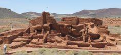 A castle in the desert.