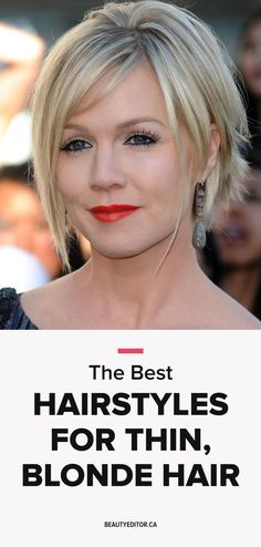 The Best Hairstyles for Thin, Blonde Hair | Beautyeditor