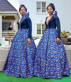 Look at this Classy traditional african fashion African Fashion Designers, African Fashion Ankara, African Print Fashion, Africa Fashion, Tribal Fashion, Ankara Dress Styles, African Print Dresses, African Dress, African Clothes
