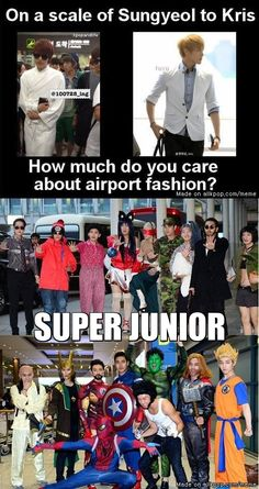 SUPER JUNIOR - the most fashionable band ever