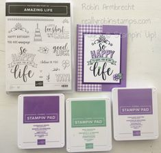 Amazing life stampin' up! 16th Birthday Card, Birthday Cards, Baby Girl Cards, Scrapbook Pages, Scrapbooking, Up Girl, Stamping Up, Greeting Cards Handmade, Homemade Cards