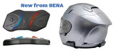 HiTech Wireless is now stocking the slimmest helmet headset and intercom combination we've ever seen, and it's no surprise that it comes to us from SENA.  Sports bike riders are already raving about the