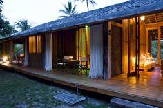 Os quartos da Vila Naiá (Foto: Reprodução)