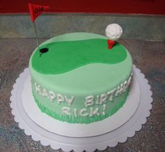 ... Birthday cakes on Pinterest  Golfers, Teen girl cakes and Golf
