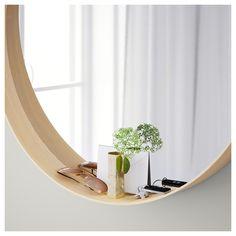 stockholm mirror walnut veneer accessories ikea