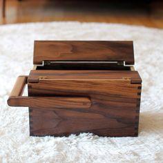 box.  Interesting hinge idea.