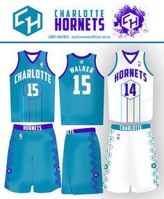 The Charlotte Hornets Fan Community Basketball Uniforms, Basketball Jersey, Sports Jersey Design, Soccer Kits, Charlotte Hornets, Life Design, Sport Wear, Cute Tops, Sport Outfits