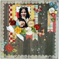 A Project by LUZMA from our Scrapbooking Gallery originally submitted 03/05/12 at 04:50 PM