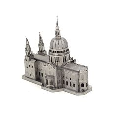 St.Paul's Cathedral Architecture Metal Model //Price: $28.99 & FREE Shipping //     #3DMetaltoys #Metal #Puzzle #3D #3DPuzzle #metalpuzzle #metalpuzzles #3dmetalpuzzles