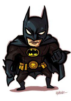 #Batman #Fan #Art. (Little : Bat man) By: ChickenzPunk. (THE * 5 * STÅR * ÅWARD * OF: * AW YEAH, IT'S MAJOR ÅWESOMENESS!!!™)[THANK U 4 PINNING!!!<·><]<©>ÅÅÅ+(OB4E)