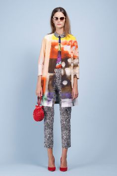 Style.com's Guide to the Spring 2014 Runway Trends. Trend fashion meets art