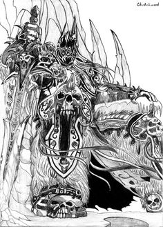 Lich King Drawing Here are some of the best World of Warcraft Artwork I could find online.