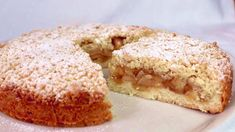 Se ami le mele impazzirai per questa torta! Facilissima! #380 - YouTube Apple Cake Recipes, Apple Desserts, Fruit Recipes, Sweet Recipes, Baking Recipes, Dessert Recipes, Apple Cakes, Cookie Recipes, Ground Turkey Recipes