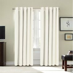 Dahlke Eyelet Semi Sheer Curtains Marlow Home Co Curtain Colour